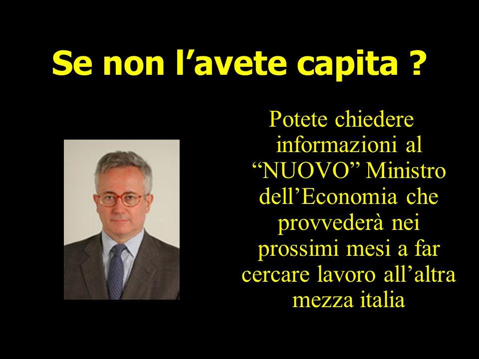 """Relatore Italiano """"Non potete competere: In Italia abbiamo preso un tale completamente senza cervello, lo abbiamo messo a capo del Governo e dopo nemm"""