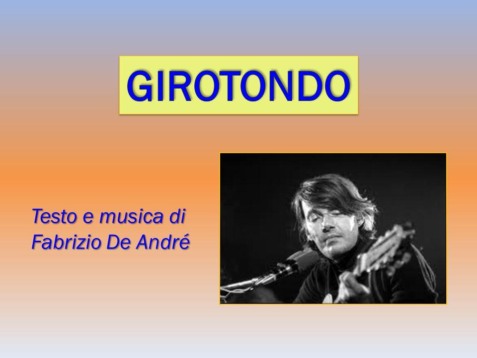 Testo e musica di Fabrizio De André