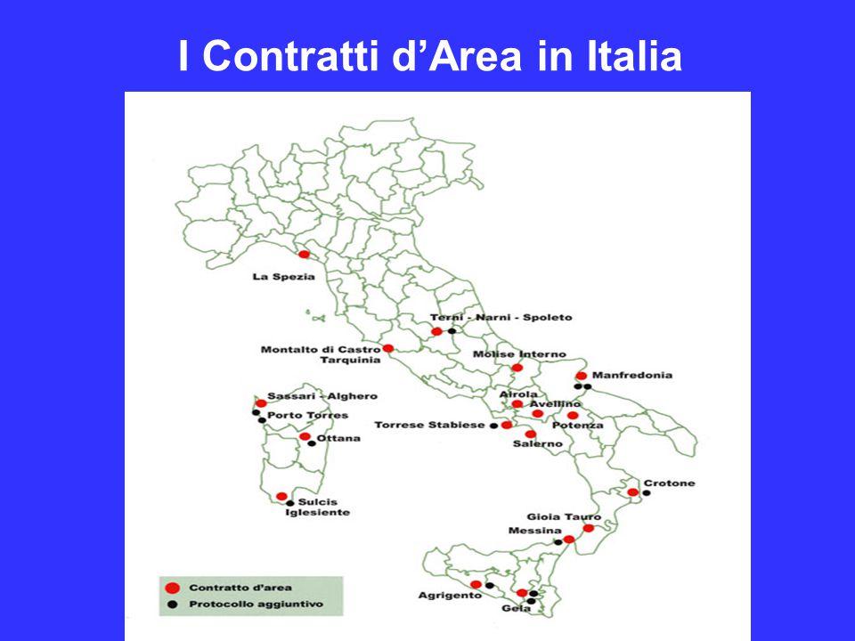 I Contratti d'Area in Italia