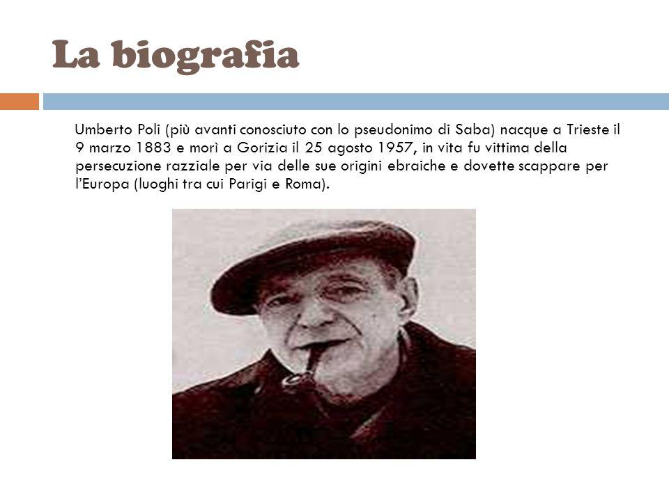 IL RITRATTO DELLA MIA BAMBINA Di Umberto Saba