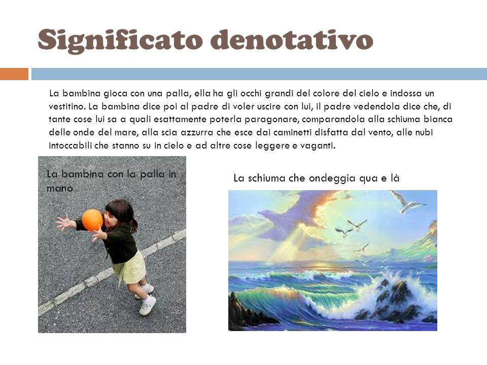Il ritratto della mia bambina (di Umberto Saba) La mia bambina con la palla in mano, con gli occhi grandi colore del cielo e dell'estiva vesticciola: Babbo- mi disse- voglio uscire oggi con te .