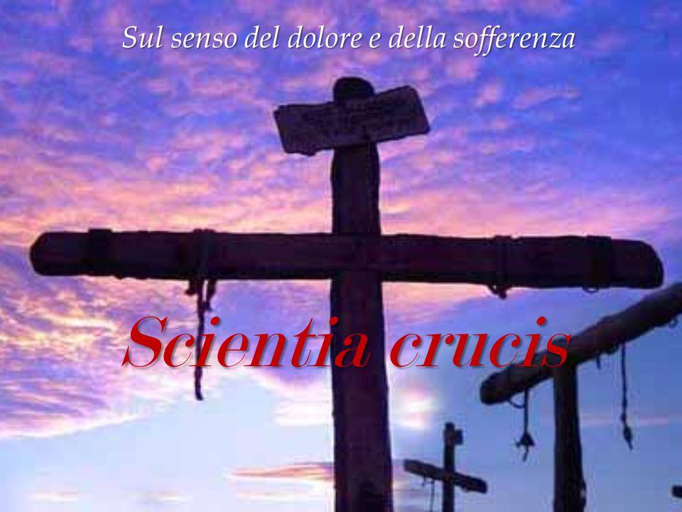 Sul senso del dolore e della sofferenza Scientia crucis