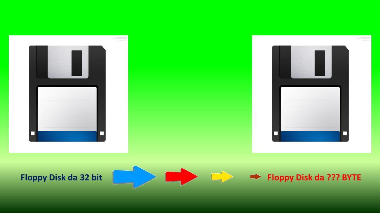 Floppy Disk da 32 bitFloppy Disk da ??? BYTE