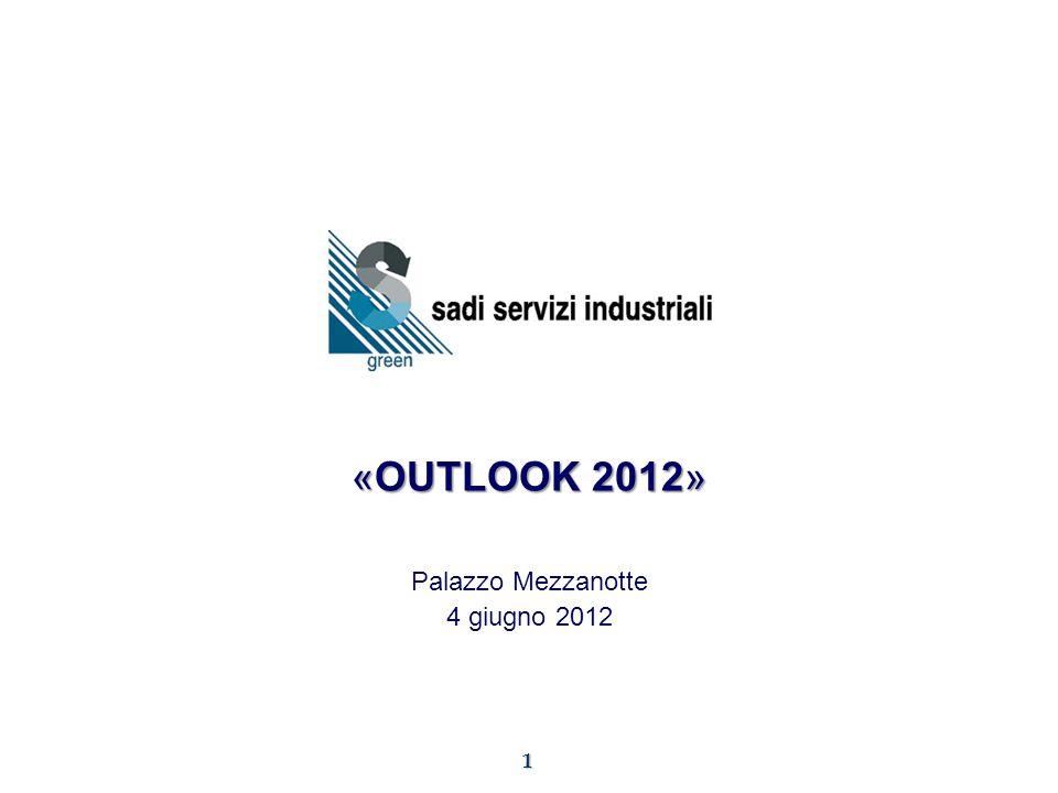 1 «OUTLOOK 2012» Palazzo Mezzanotte 4 giugno 2012
