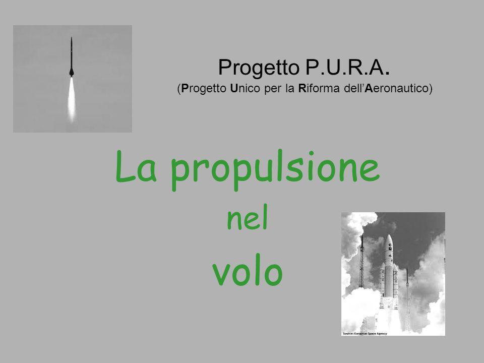 Progetto P.U.R.A. (Progetto Unico per la Riforma dell'Aeronautico) La propulsione nel volo