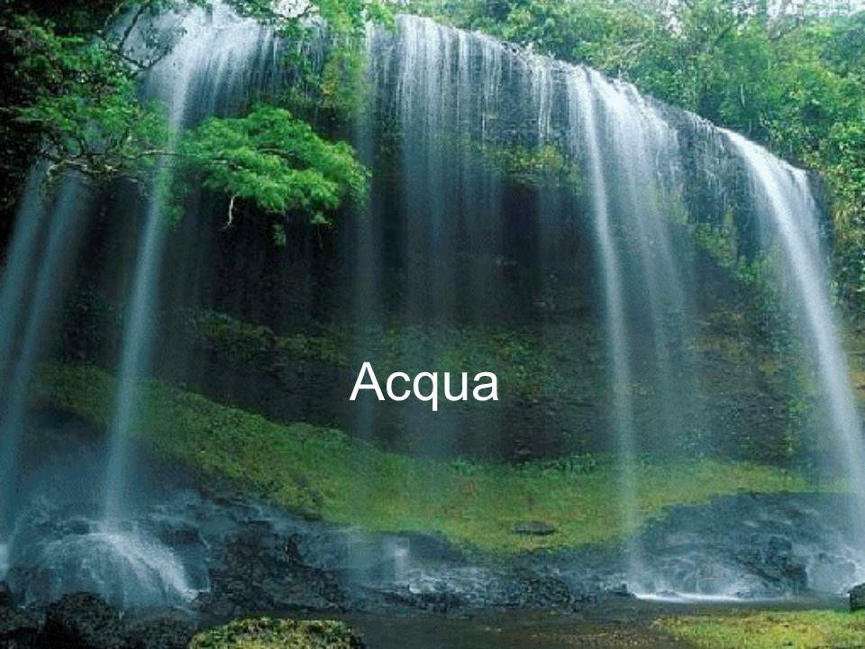 Semplicissima rappresentazione schematica della molecola d'acqua