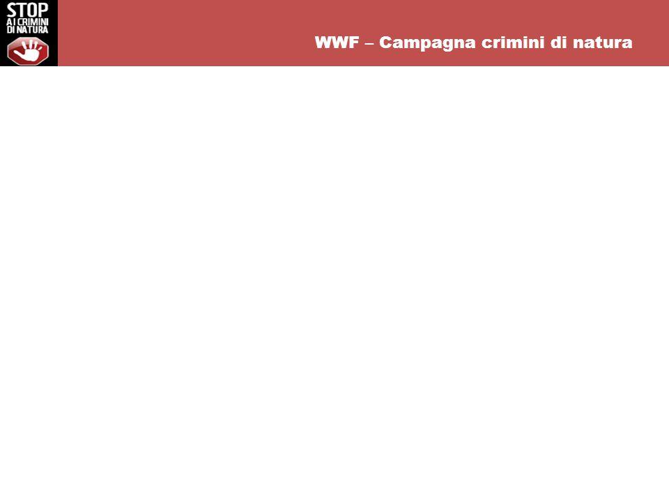 WWF – Campagna crimini di natura