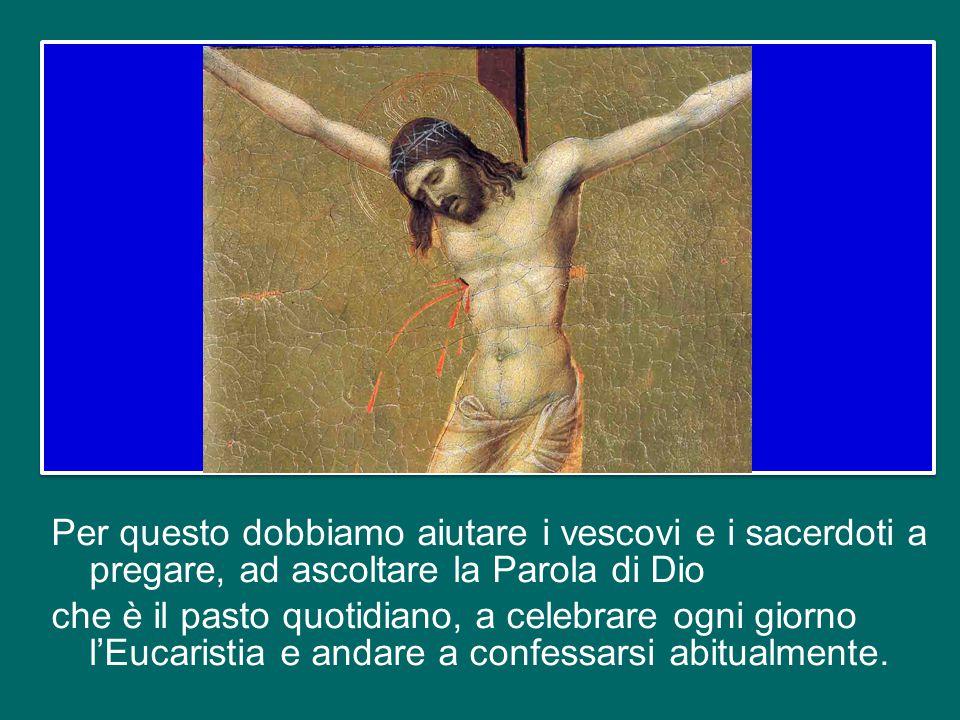 Il vescovo che non prega, il vescovo che non ascolta la Parola di Dio, che non celebra tutti i giorni, che non va a confessarsi regolarmente, e lo ste