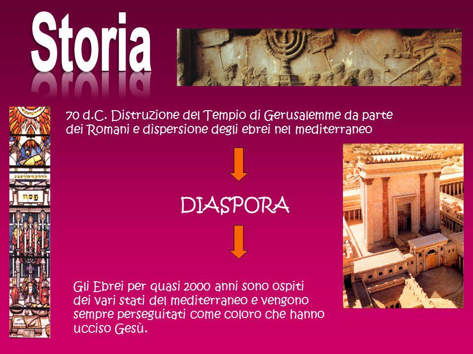 Una grossa comunità si forma anche a Livorno a partire dal 1500 Nel 1516 a Venezia nasce il primo Ghetto, un quartiere chiuso dove gli ebrei dovevano risiedere, esclusi dal mondo esterno.