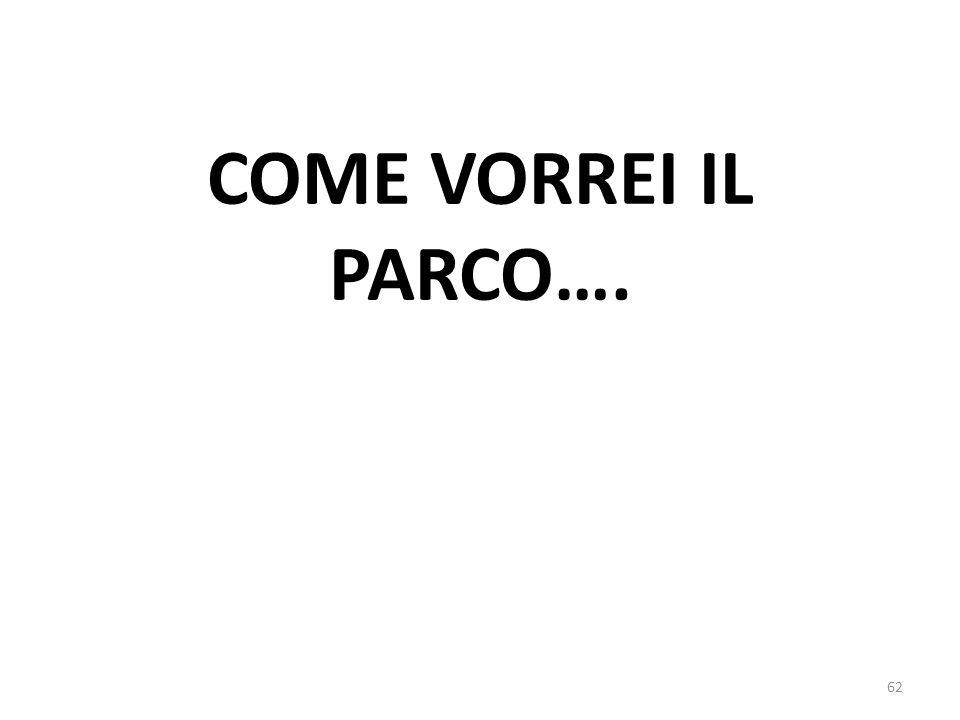 COME VORREI IL PARCO…. 62