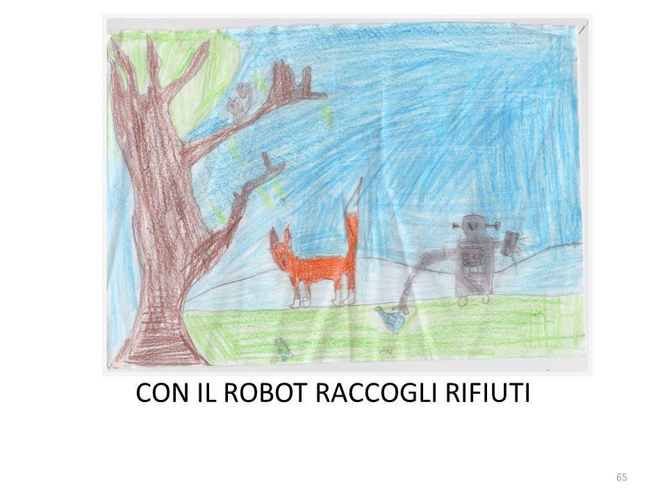 CON IL ROBOT RACCOGLI RIFIUTI 65