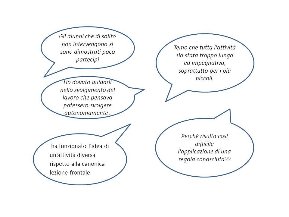 Dell'eterogeneità dei ragazzi, per età, approccio all'apprendimento, interessi personali Della dimensione collettiva del contesto (rapporto uno/molti, oppure coppie o piccoli gruppi?) Della graduazione delle difficoltà rispetto ai contenuti dell'insegnamento Dei vincoli di tempo e di organizzazion e istituzionale Come motivare e sostenere OGNI ALLIEVO, tenendo conto contemporanea mente …?