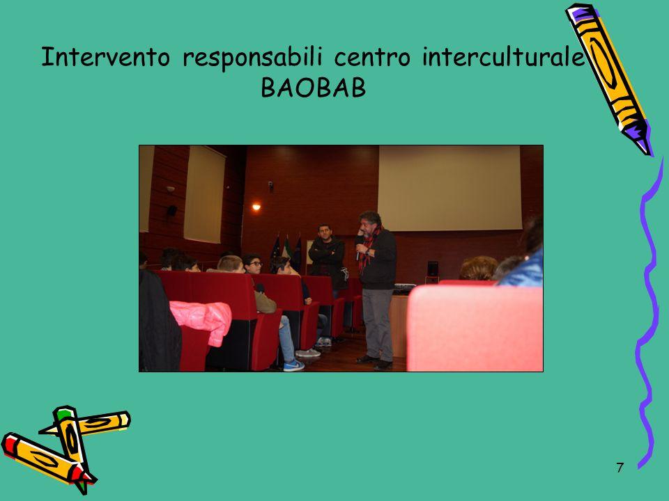 Intervento responsabili centro interculturale BAOBAB 7