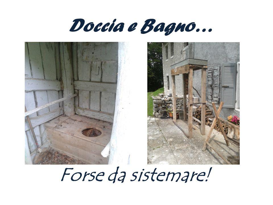 Doccia e Bagno… Forse da sistemare!