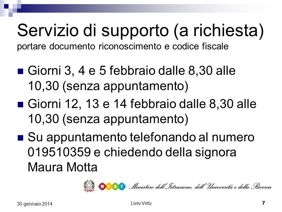 Livio Virtù 8 30 gennaio 2014