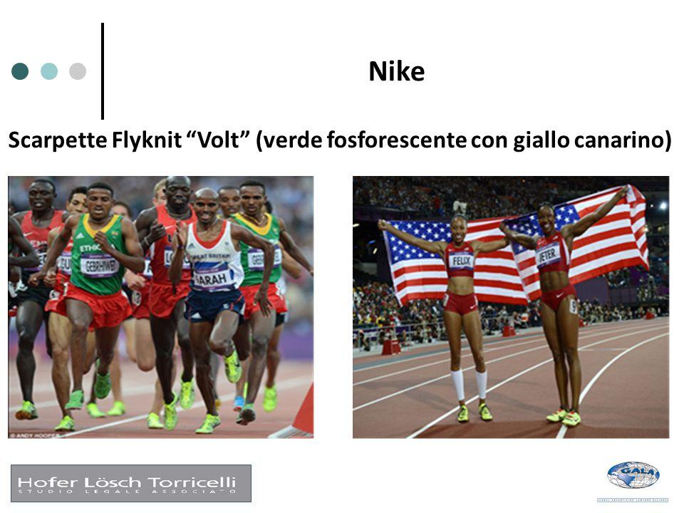 Nike Scarpette Flyknit Volt (verde fosforescente con giallo canarino)