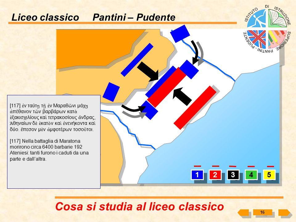 Liceo classico Pantini – Pudente Cosa si studia al liceo classico? 15