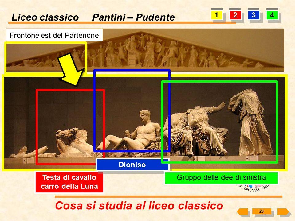 Liceo classico Pantini – Pudente Cosa si studia al liceo classico 19 1 2 Cella (nàos) Perìptero Peristàsi Pronao Anfipròstilo Opistòdomo Octastilo