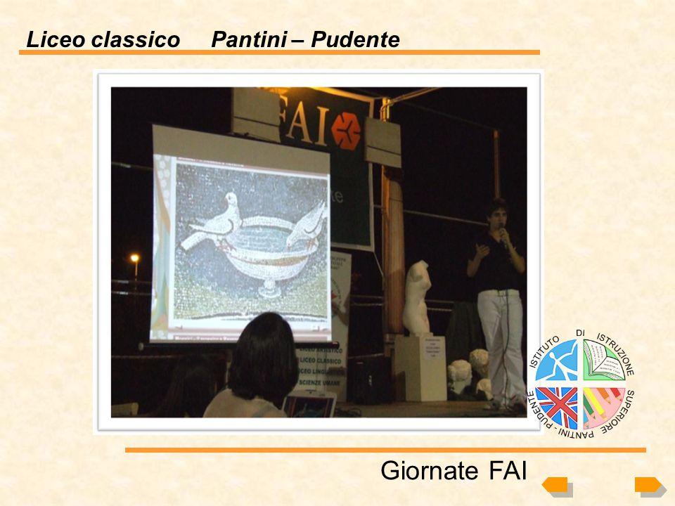Liceo classico Pantini – Pudente Giornate FAI