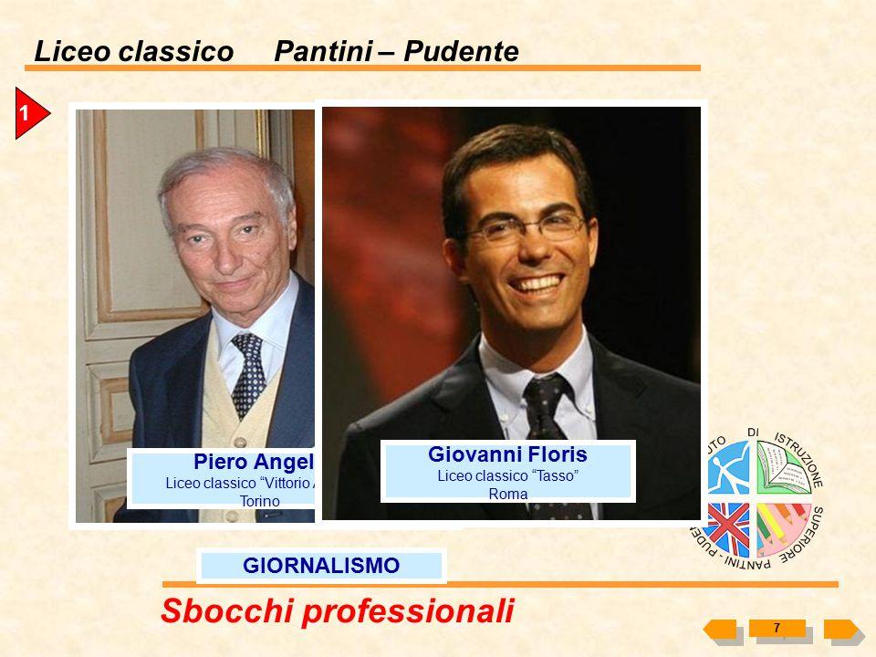 """Liceo classico Pantini – Pudente 6 CINEMA Mario Monicelli Liceo classico """"Cicognini-Rodari"""" Prato Carlo Verdone Liceo classico """"Tasso"""" Roma Pier Paolo"""