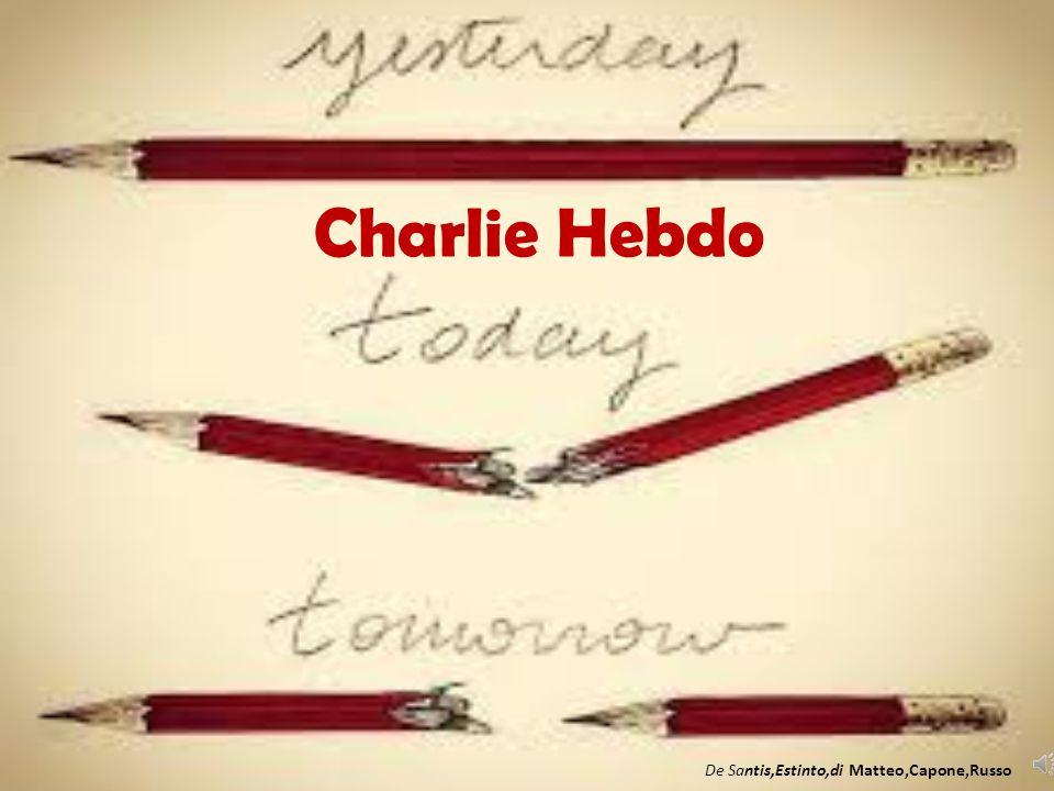 Charlie Hebdo De Santis,Estinto,di Matteo,Capone,Russo