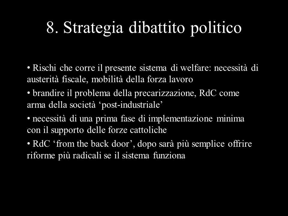 Rischi che corre il presente sistema di welfare: necessità di austerità fiscale, mobilità della forza lavoro brandire il problema della precarizzazion