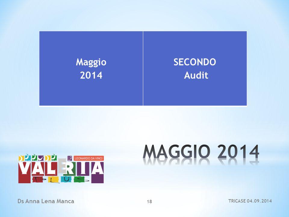 Ds Anna Lena Manca 18 Maggio 2014 SECONDO Audit TRICASE 04.09.2014