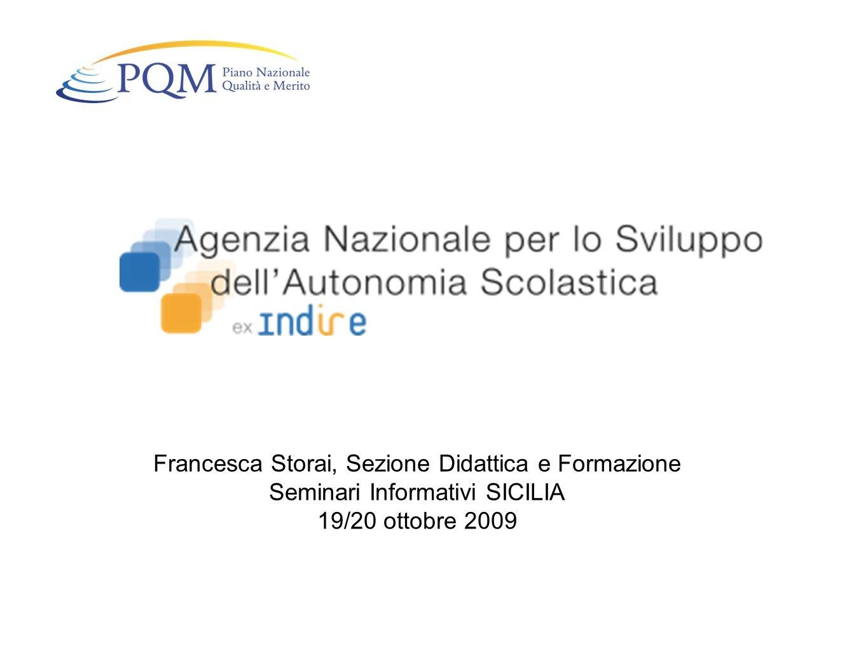 Paola Nencioni, Sezione Didattica e Formazione Seminari Informativi CAMPANIA 20/21 ottobre 2009