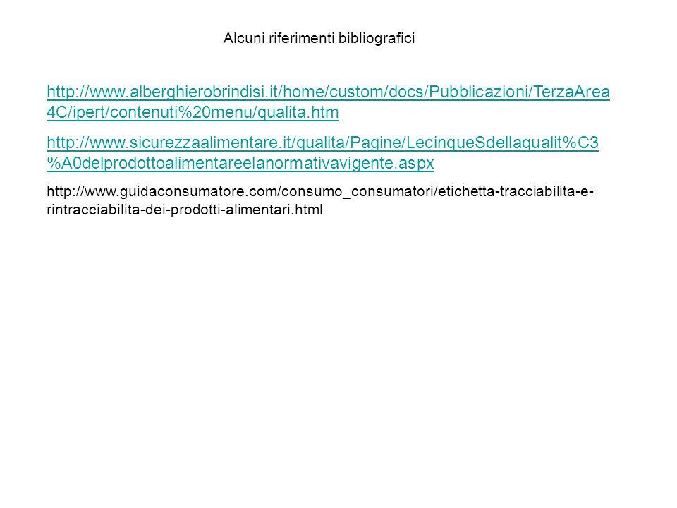http://www.alberghierobrindisi.it/home/custom/docs/Pubblicazioni/TerzaArea 4C/ipert/contenuti%20menu/qualita.htm http://www.sicurezzaalimentare.it/qua