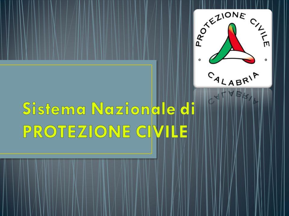 LEGGE REGIONALE n°4 /97 Legge organica di Protezione Civile della Regione Calabria
