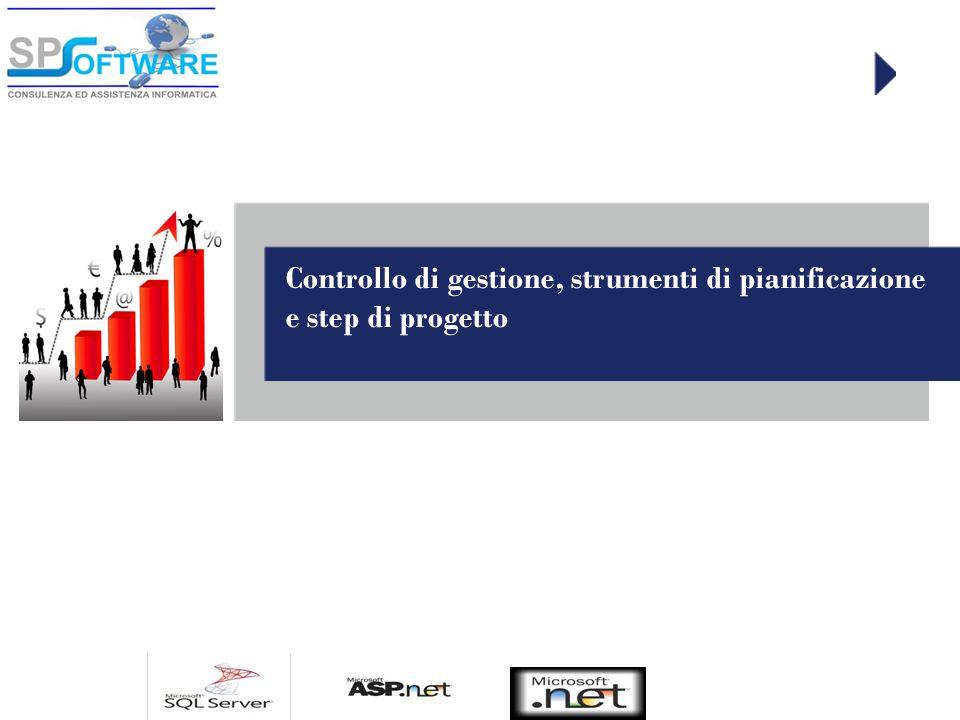 Controllo di gestione, strumenti di pianificazione e step di progetto
