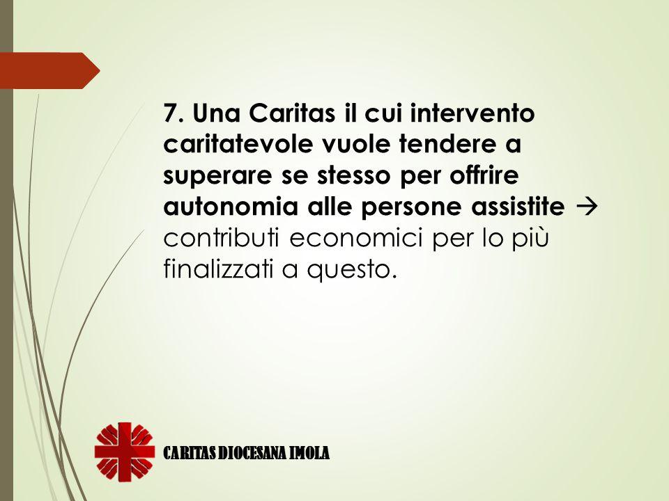 CARITAS DIOCESANA IMOLA 8.