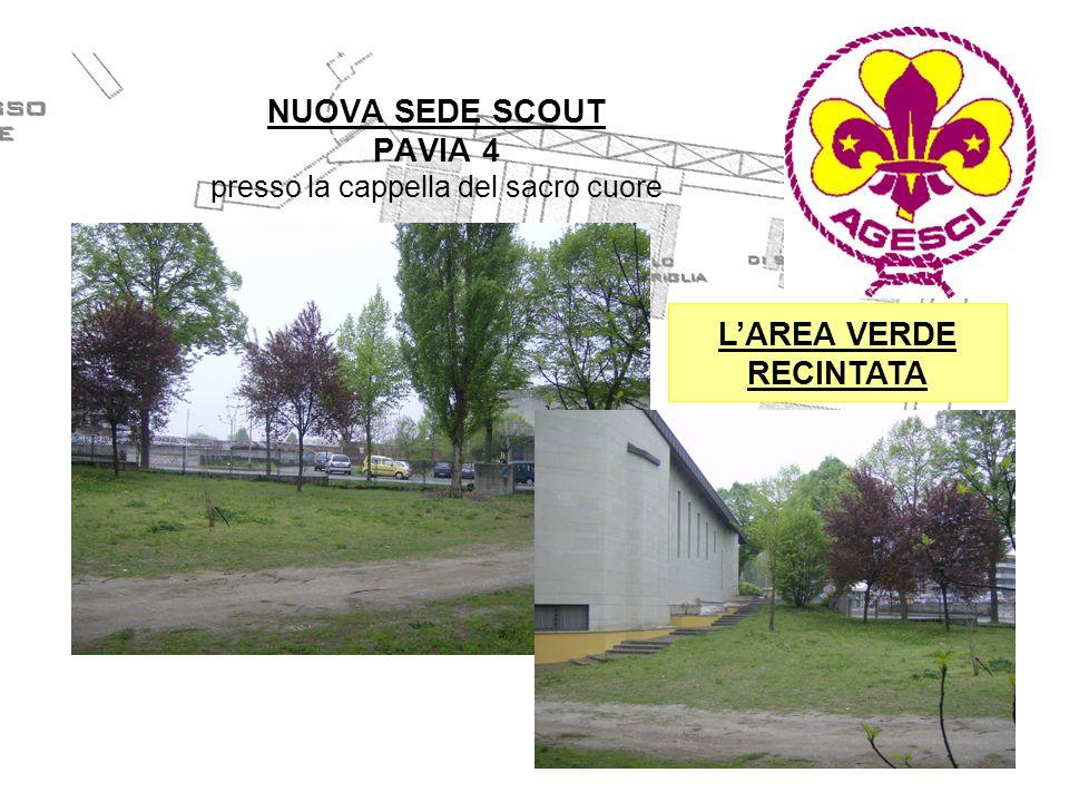 NUOVA SEDE SCOUT PAVIA 4 presso la cappella del sacro cuore PLESSO POLIFUNZIONALE