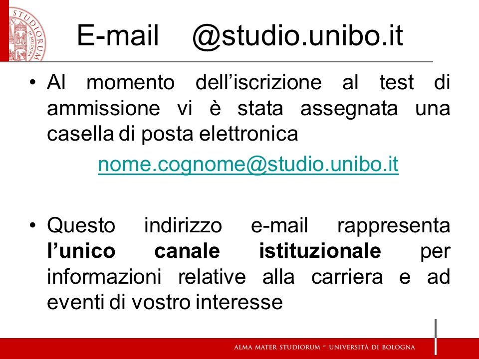 Studenti On Line https://studenti.unibo.it