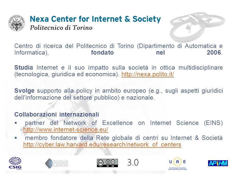 Centro di ricerca del Politecnico di Torino (Dipartimento di Automatica e Informatica), fondato nel 2006.