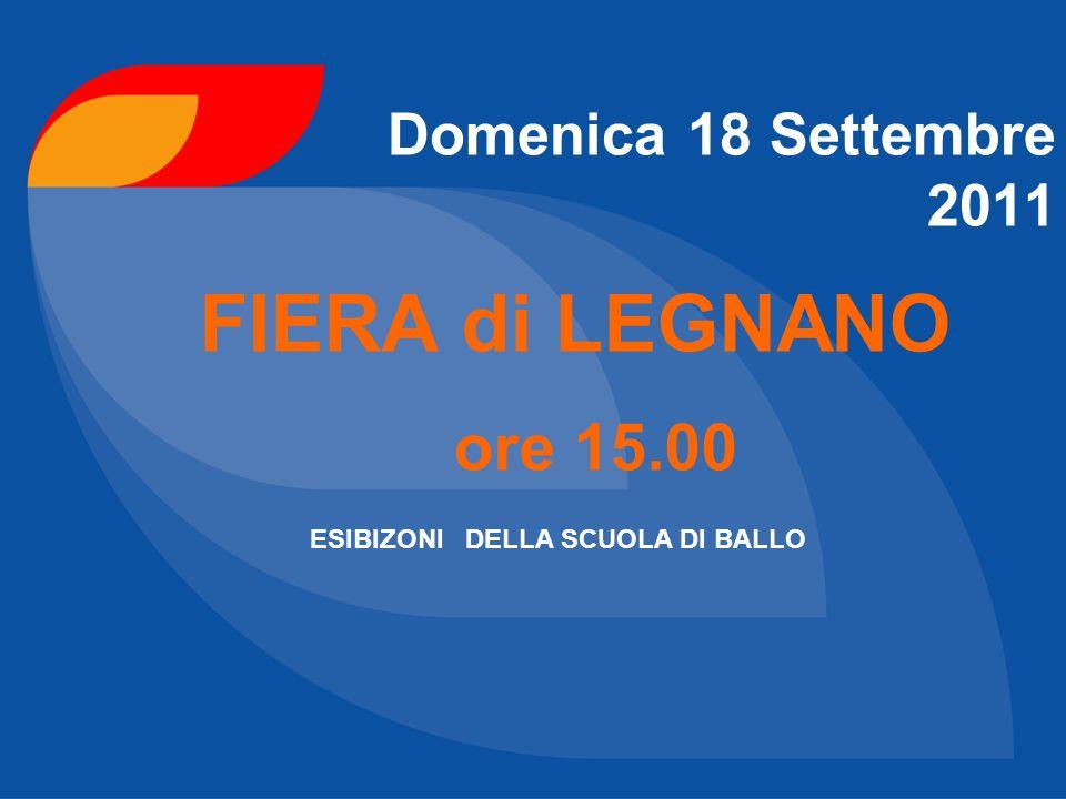 1 Aprile 2012 Presso Palazzetto dello Sport di Castellanza 4° TROFEO National Dance Sport Academy