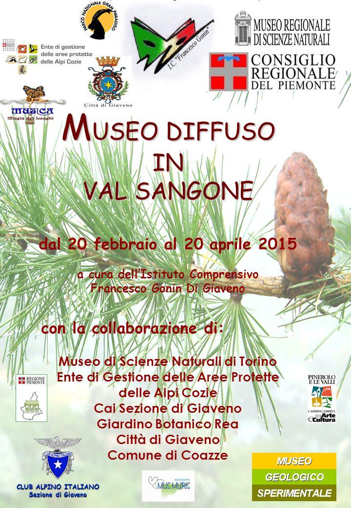 Museo di scienze naturali di Torino Ente do Gestione delle Aree Protette delle Alpi Cozie Cai sezione di Giaveno Giardino Botanico Rea Comune di Giave