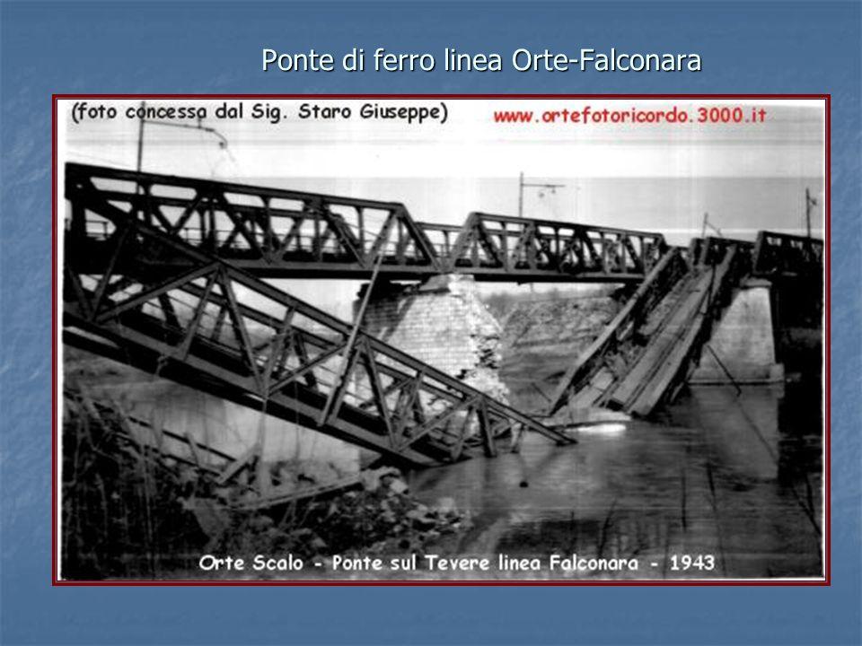 Ponte di ferro linea Orte-Falconara