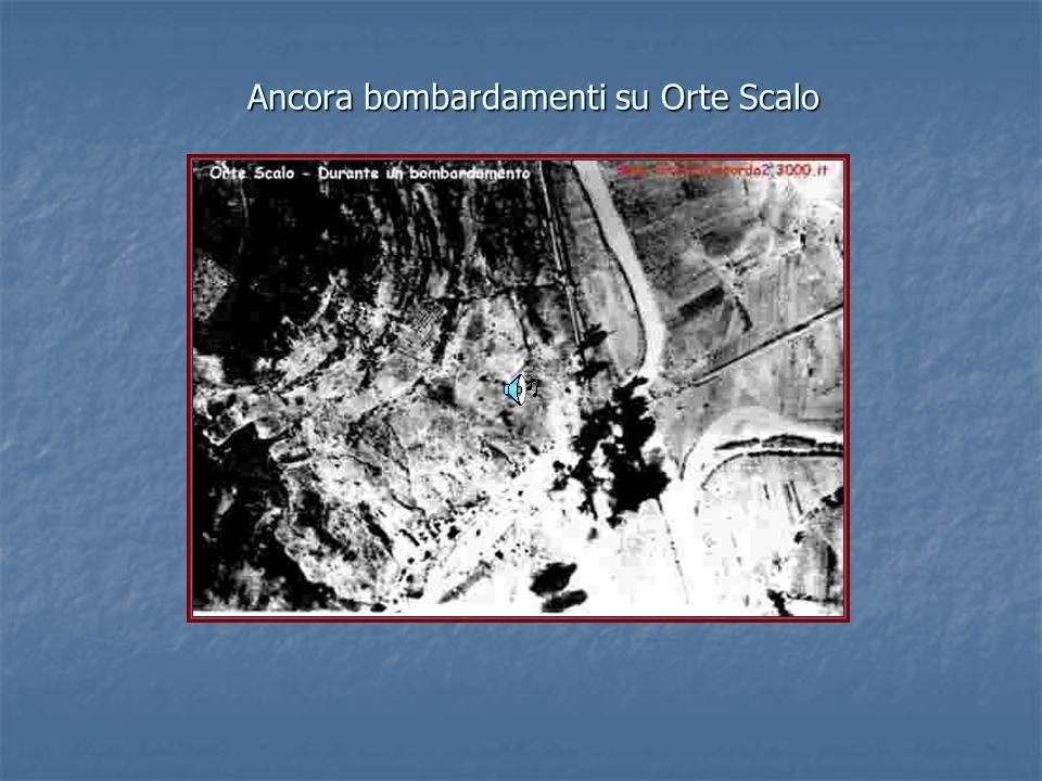 Ancora bombardamenti su Orte Scalo