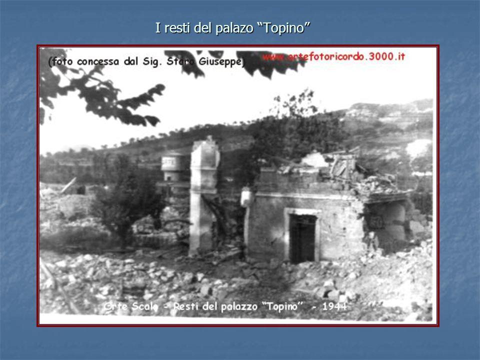 """I resti del palazo """"Topino"""""""