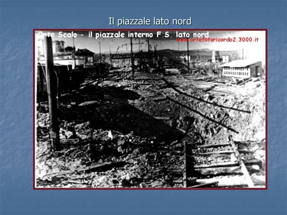 Il bombardamento visto da Orte città