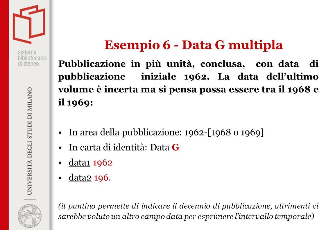 Pubblicazione in più unità, conclusa, con data di pubblicazione iniziale 1962.