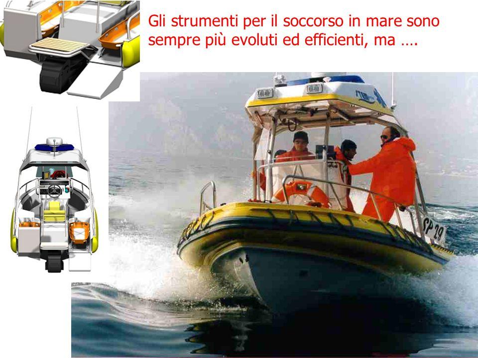 Gli strumenti per il soccorso in mare sono sempre più evoluti ed efficienti, ma ….