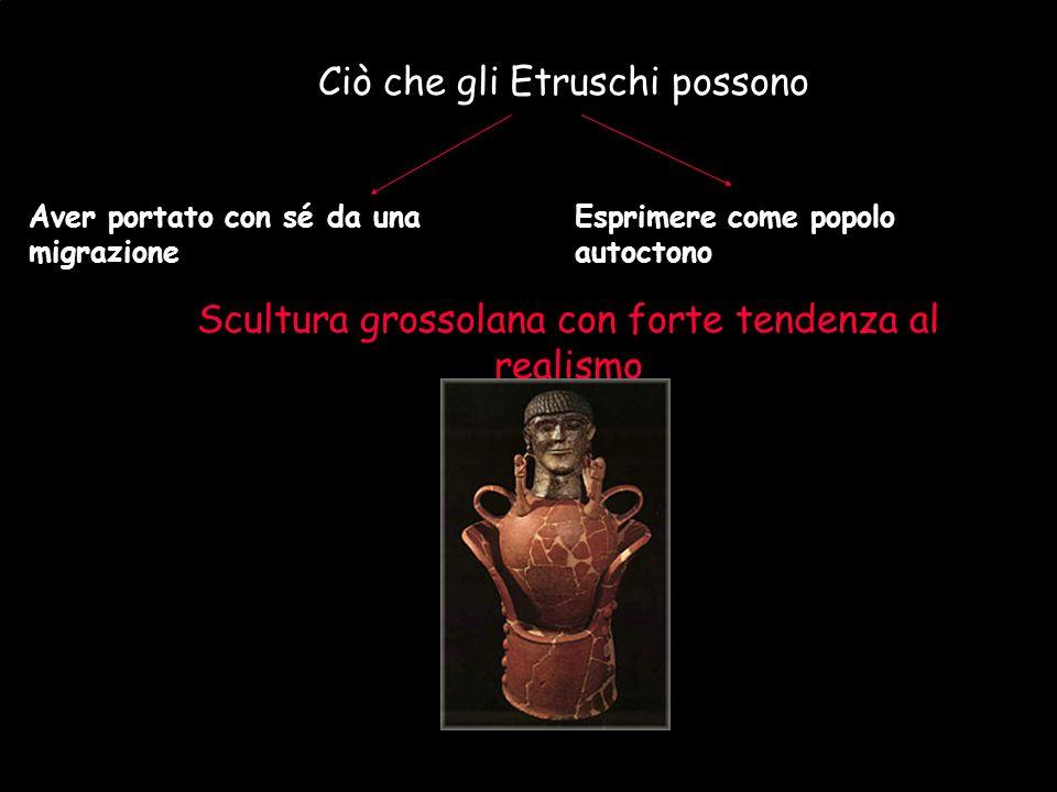 Maria Giulia Poggi Etruschi. Storia e civiltà31 Ciò che gli Etruschi possono Aver portato con sé da una migrazione Esprimere come popolo autoctono Scu