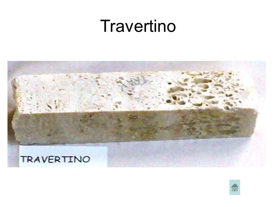 Si tratta di una roccia calcarea porosa che si origina a causa di fenomeni di precipitazione chimica di acque particolarmente carbonatiche.