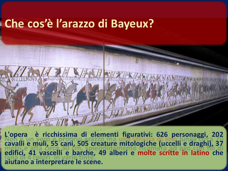 A Bayeux, in Francia, all'interno del Museo della Regina Matilde. Dove si trova?