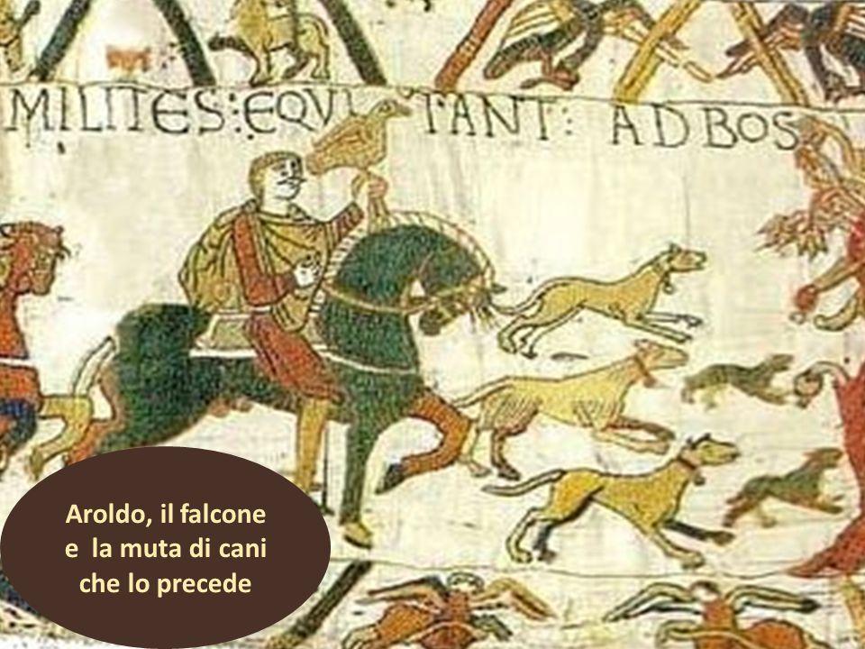 Omettiamo alcune scene (15 -22), che rappresentano una spedizione di Guglielmo contro i Bretoni.