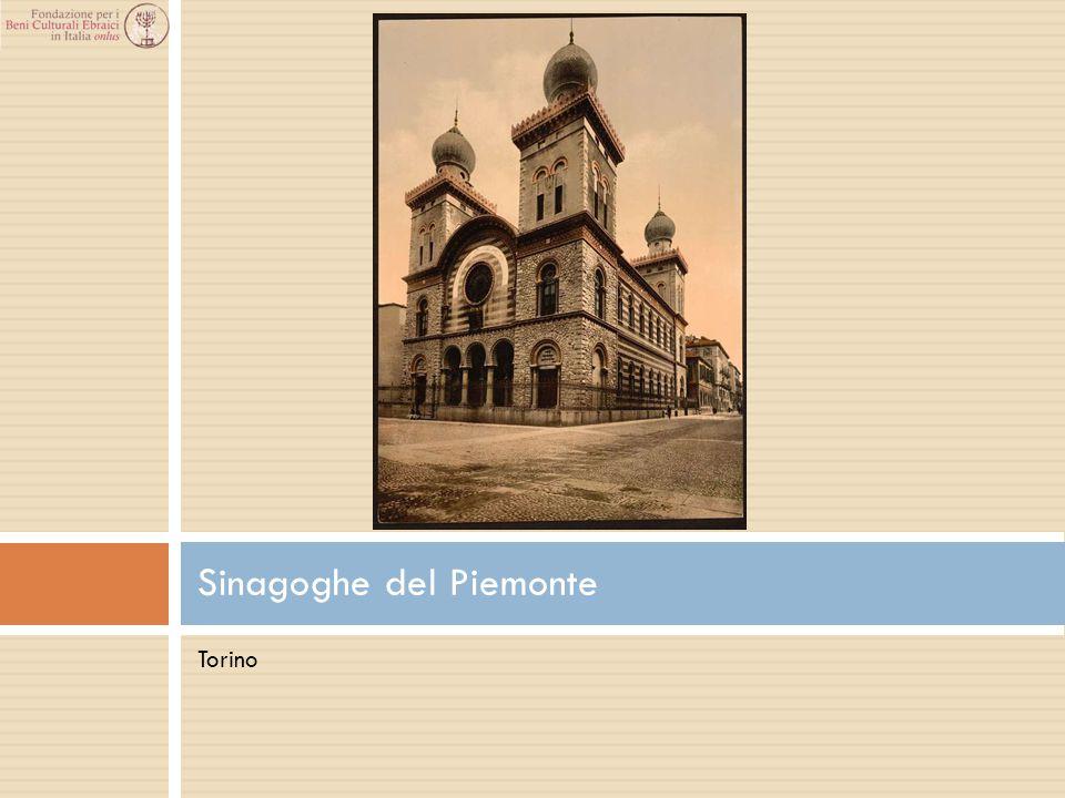 Torino Sinagoghe del Piemonte