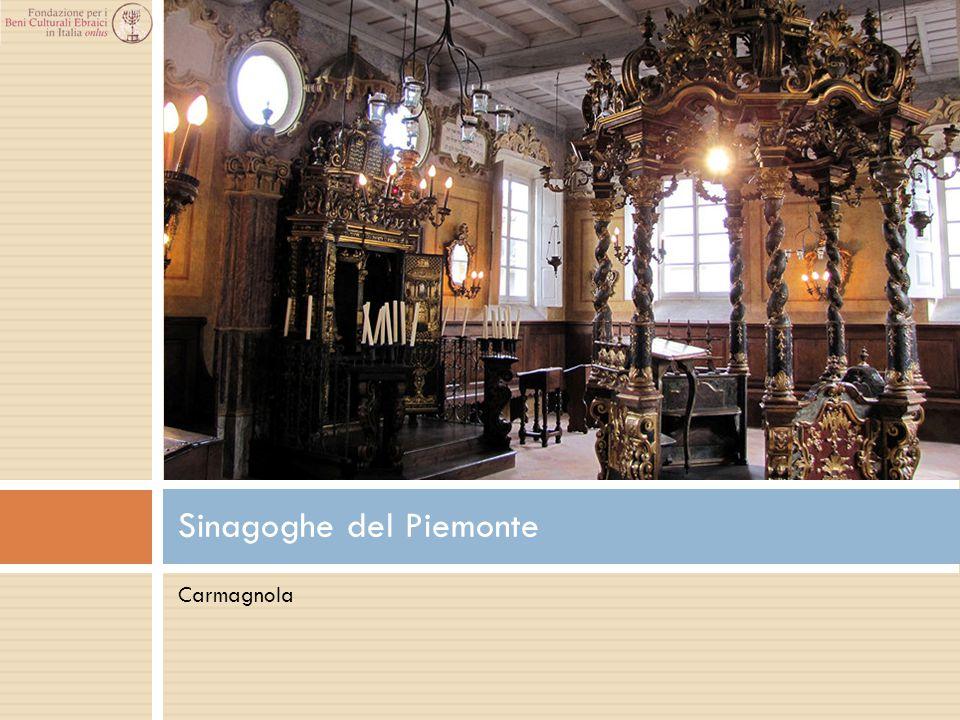 Carmagnola Sinagoghe del Piemonte