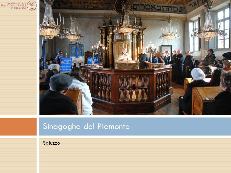 Saluzzo Sinagoghe del Piemonte